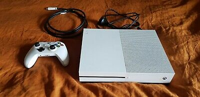 AU245 • Buy Microsoft Xbox One S 500 GB White Console + 3 Games (BF 1, BF V, D2) - FREE POST