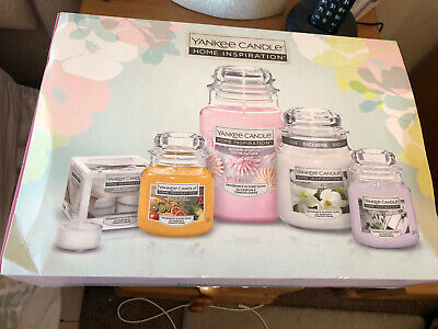AU71.98 • Buy YANKEE CANDLE HOME INSPIRATION 16 PIECE GIFT SET - NEW - BOXED - Unwanted Gift