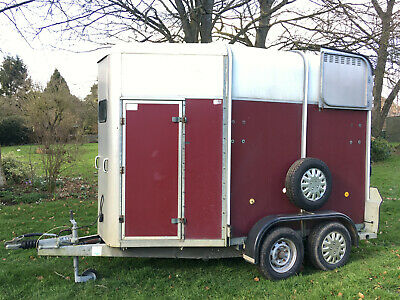 Ifor Williams HB505 Horse Trailer - 2003 With CCTV - VGC • 1,850£