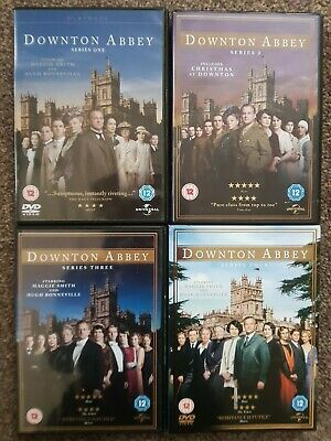 Downton Abbey DVDs Series 1, 2, 3, 4 • 4.40£
