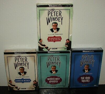 Used Lord Peter Wimsey Collection Lot Of 4 Sets -  Starring Ian Carmichael DVDs • 11.44£