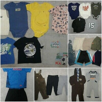AU48.93 • Buy Lot Of 25 Boys' Clothes, 18 Months/12-18 Months, Carter's, Adidas, Old Navy, Gap