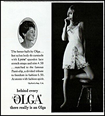 $ CDN12.60 • Buy 1968 Olga Lingerie Sexy Woman Body Fit Camisole Vintage Photo Print Ad Ads31