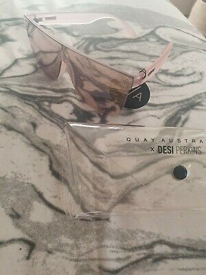 AU40 • Buy **QUAY** Jaded Pink Mirrored Sunglasses..As New