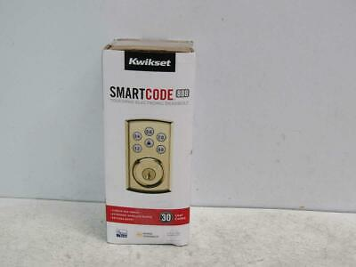 $ CDN132.92 • Buy Kwikset 98880-006 SmartCode 888 Smart Lock Touchpad Deadbolt Lock Polished Brass