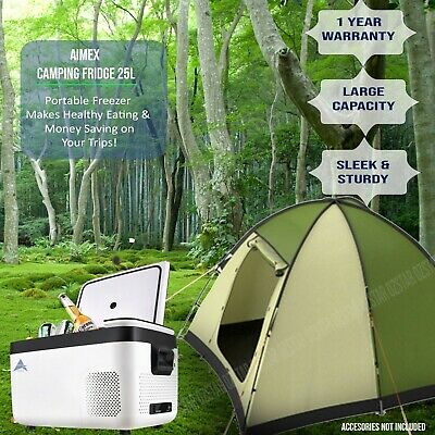 AU304 • Buy Camping Fridge Hiking Portable Freezer Freeze Refrigerator Cooler Car Caravan AU