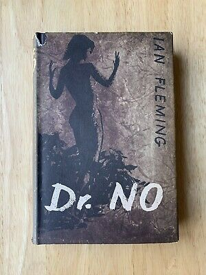 Dr. No - Ian Fleming - First Edition 1958 - James Bond 007 - 1st Hardback Book • 19£