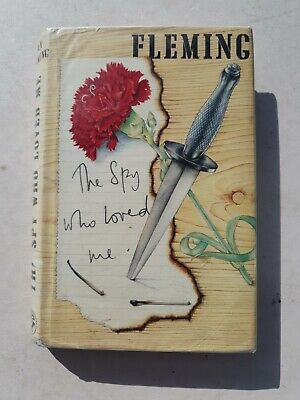 Ian Fleming The Spy Who Loved Me Book 1980 • 12£