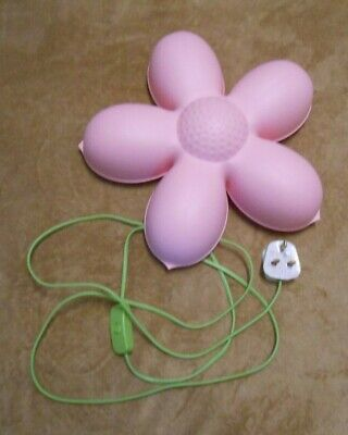 Kids Wall Light Night Light Ikea Pink Flower Smila Blomma • 2£