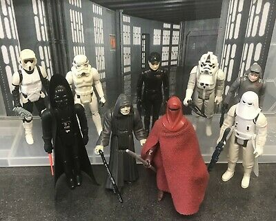 $ CDN28.17 • Buy Vintage Star Wars Figures - 9 Imperials With Weapons And Accessories