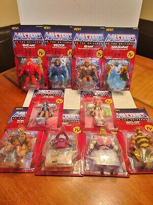 $149.99 • Buy Masters Of The Universe He Man Super 7 Vintage Series Lot Of 10