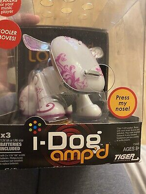 Hasbro I-Dog Amp'd  Tattoo Butterfly Robotic Speaker Toy New In The Box X2 • 30£