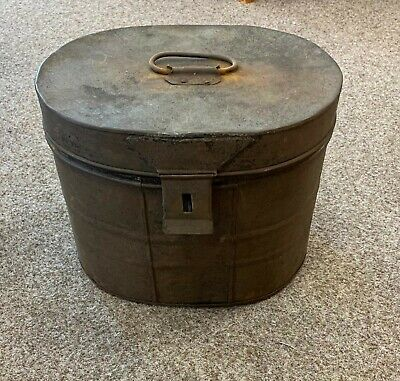 Vintage Metal Fireside Coal Ash Kindling Bucket Bin Scuttle With Lid  • 20£