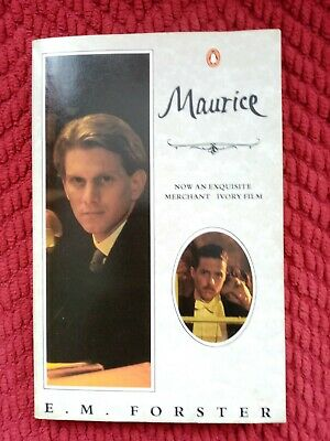 £9.99 • Buy Maurice E M Forster Film Movie Tie In Edition Book 1987 Gay Interest