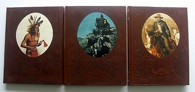 3 X The Old West Wonderful Time Life Books/the Expressmen / Indians/ Gunfighters • 3£