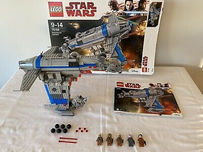 Lego Star Wars Resistance Bomber 75188 100% Complete With Instructions And Box • 75£
