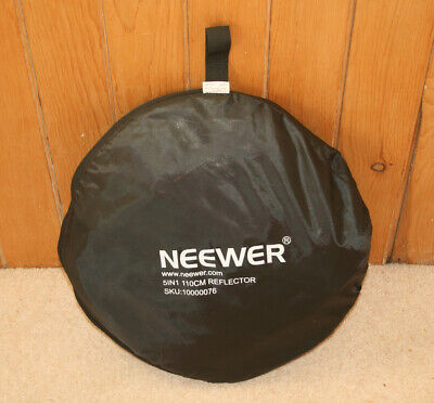 Neewer 110cm Collapsible 5-in-1 Multi-Disc Light Reflector + Bag, Part 10000076 • 20£