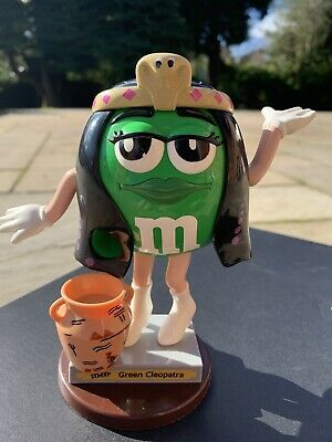 M&M's Green Cleopatra Sweet / Candy Dispenser - Collectible • 5.30£