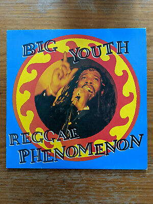 Big Youth Reggae Phenomenon Greatest Hits Double Vinyl LP Trojan TRLD 411 • 13.99£