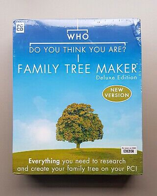 Who Do You Think You Are - Family Tree Maker (software) Deluxe Edition • 0.99£