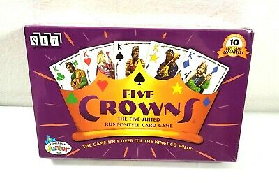 AU19.24 • Buy Set Enterprises ~ FIVE CROWNS ~ 5-Suited Rummy-Style Card Game ~ NEW