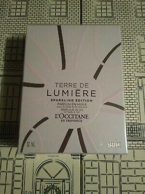 L'occitane Terre De Lumiere Sparkling Edition Oil For Hair And Body - 50ml - New • 32£