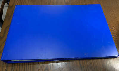Esselte Landscape A3 Ring Binder With 35/40 Inserts Blue • 20£