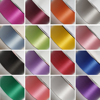 £7.49 • Buy 2inch 50 Mm Poly Ribbon For Wedding Florist Gift Craft