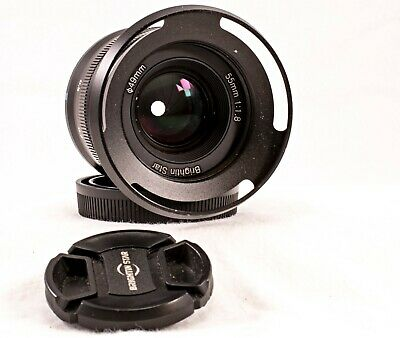 AU19.37 • Buy Brightin Star 55mm F/1.8 Sony E Mount Full Frame Lens Used And Excellent