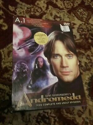 Andromeda A.1 Dvd Box Set Five Complete And Uncut Episodes • 2.82£