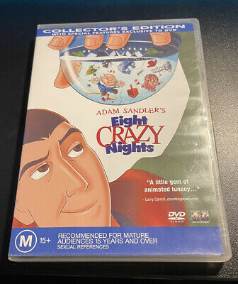 AU20 • Buy Adam Sandler's Eight Crazy Nights DVD