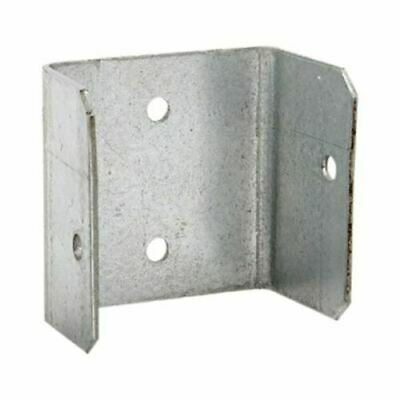 £6.99 • Buy Fence Panel Clips 40mm 46mm 52mm Galvanised Brackets Fencing Post Panel Clips