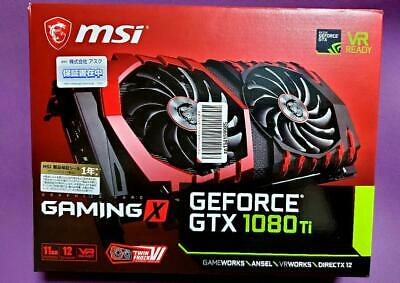 $ CDN1252.44 • Buy  IN STOCK MSI NVIDIA GeForce GTX 1080 Ti 11GB Gaming X