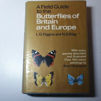 £9 • Buy Vintage A Field Guide To The Butterflies Of Britain And Europe 1975