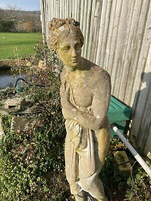 Garden Statue Ornament Of A Lady - Stone? - Buyer Collects Only - BN21 / TN3 • 10£