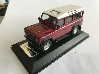 Land Rover Defender Burgundy Diecast Model 1:43 Scale - Cararama Collectors • 4.99£