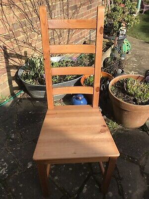 IKEA 6 DINING CHAIR - KAUSTBY - Antique Pine Colour- - BARGAIN!! • 1£