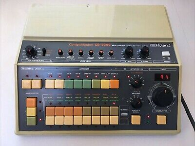 AU1249.80 • Buy Roland CR 8000 Classic Drum Machine. Great For Samples And Rhythms