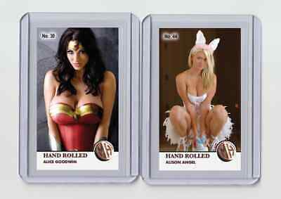 $ CDN6.34 • Buy Alison Angel Rare MH Hand Rolled #'d 3/3 Tobacco Card No. 44