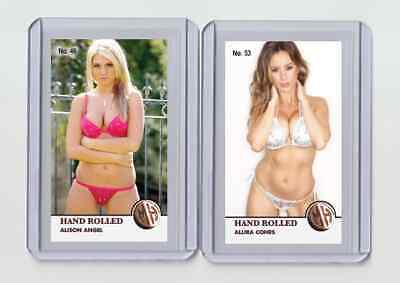 $ CDN6.34 • Buy Alison Angel Rare MH Hand Rolled #'d 2/3 Tobacco Card No. 46