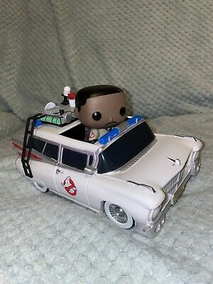 Pop! Rides Ghostbusters Car Ecto-1 With Winston Zeddemore #04 Very Rare • 35£