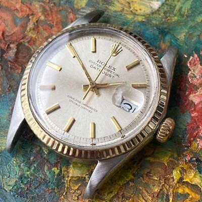 $ CDN3298.62 • Buy Rolex Datejust 1601 Two-tone Vintage Watch 100% Genuine 36 Mm 1968 Cal. 1570