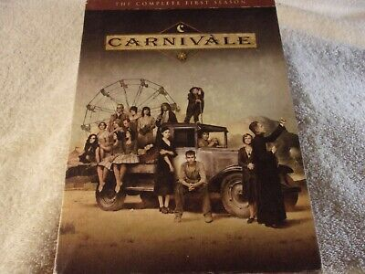 Carnivale - The Complete First Season (DVD, 2004, 6-Disc Set) **PLAYS GREAT** • 6.43£