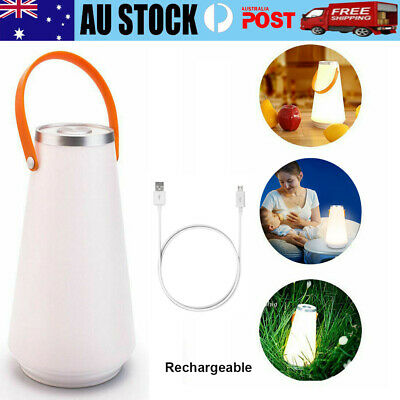 AU26.89 • Buy LED Camping Lantern Outdoor Hiking Tent Light Lamp USB Rechargeable 2300mAh AU