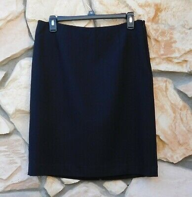 $22.50 • Buy ICO UNIFORMS Black Pencil Skirt Size 10 Military Office US Navy Church Career