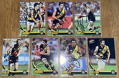 AU28 • Buy AFL Select 2009 Champions Richmond Tigers Signed Cards X7
