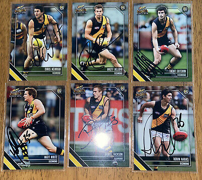 AU24 • Buy AFL Select 2011 Champions Richmond Tigers Signed Cards X6