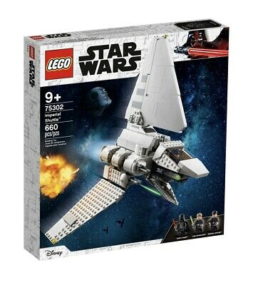 🧨Lego 75302 🌟Star Wars Imperial Shuttle - Minus Darth Vader Minifigure • 64.99£