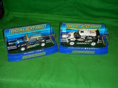 SCALEXTRIC MINI COOPER No8 AND MINI COUNTRYMAN WRC BOTH UNUSED AND BOXED  • 49£