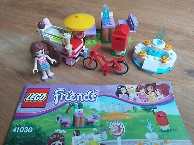 Lego Friends 41030 Olivia's Ice Cream Bike Complete With Instructions, No Box • 1.50£